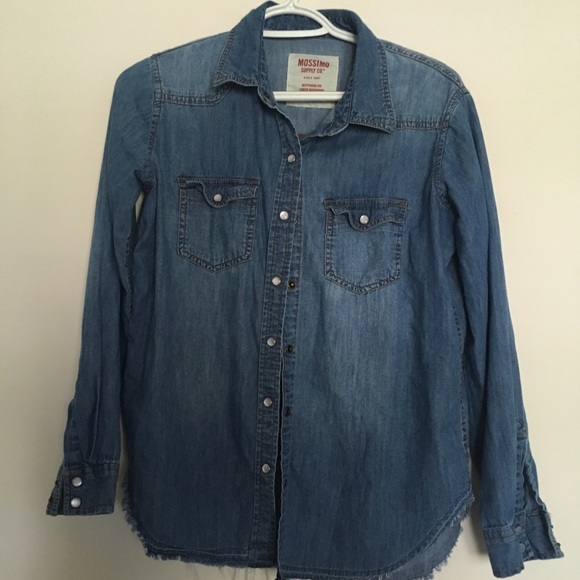 Mossimo Supply Co. Tops - Western style denim shirt